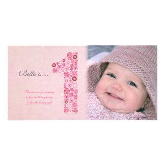 1st Birthday Photo Cards | Zazzle.co.uk