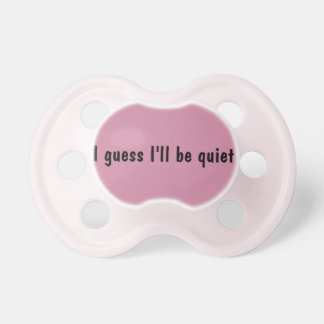 Babies can talk pacifiers