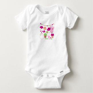 Babies cloth : Kids model with Summer Art Baby Onesie
