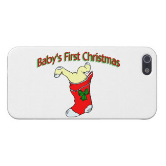 Babies First Christmas Cover For iPhone 5/5S