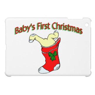 Babies First Christmas iPad Mini Covers