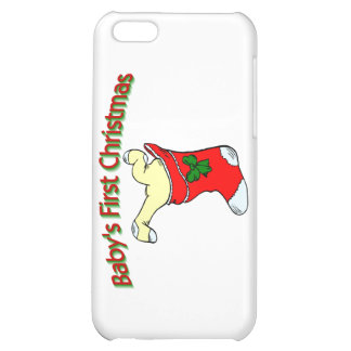 Babies First Christmas iPhone 5C Case