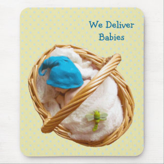 Babies in Clay: Midwife, Doctors: Deliver Baby Mouse Mat