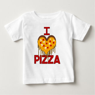 Babies Love Pizza TOO! Baby T-Shirt