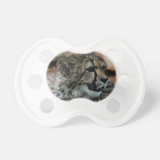 Babies Pacifier/Dummy with cheetah cub Pacifier