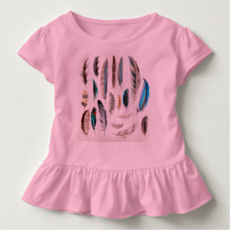 Babies tshirt with Feathers
