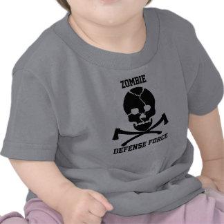 babies Zombie Defense Force: Skulls & Axes Tshirt