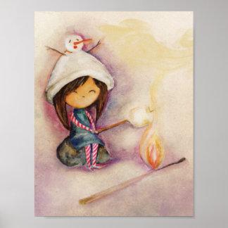 Babocska | Marshmellow Poster