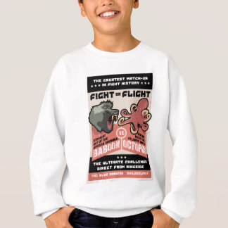 BABOON VS OCTOPUS.png Sweatshirt