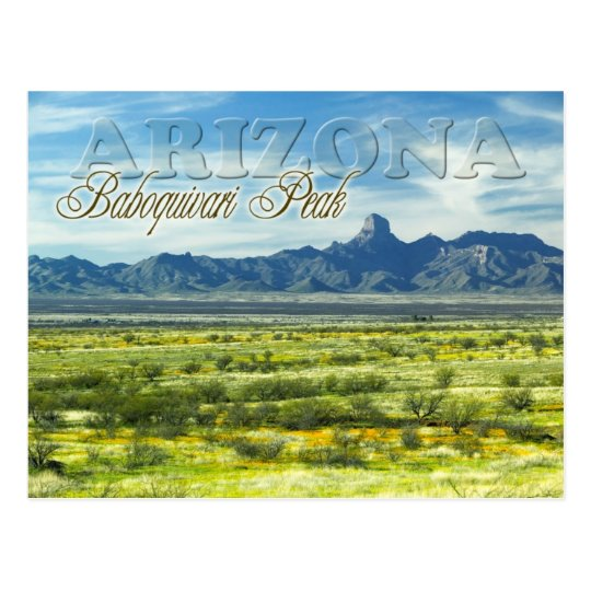 Baboquivari Peak Wilderness, Arizona Postcard