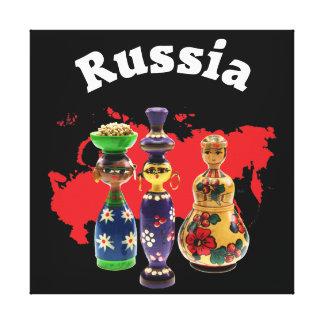 Babushka Matrjoschka Matryoshka canvas