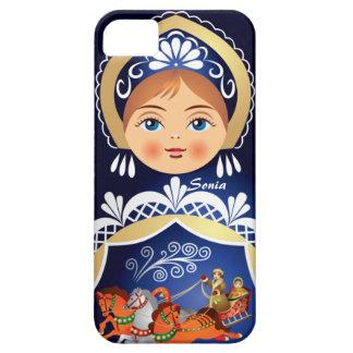 Babushka Matryoshka  Russian Doll Case For The iPhone 5