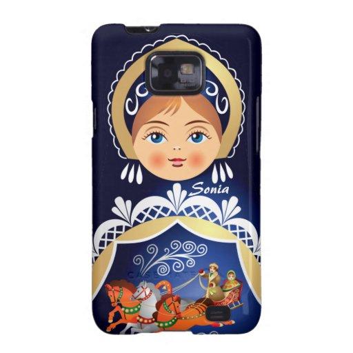 Babushka  Matryoshka Russian Doll Samsung Case Samsung Galaxy Cover