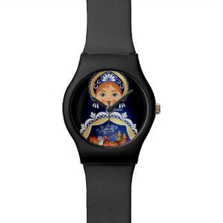 Babushka Matryoshka Russian Doll Watch $58.95