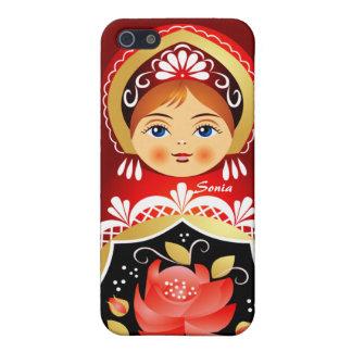 Babushka Russian Doll iPhone 5 Case.