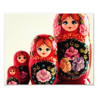 Babushka Russian Doll Photo Print