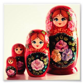 Babushka Russian Doll Photographic Print