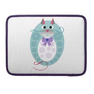 Babushkat cute cat doll design sleeve for MacBooks