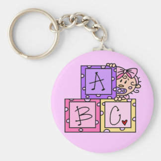 Baby ABC Tshirts and Gifts Keychains