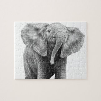 Baby African Elephant Puzzle