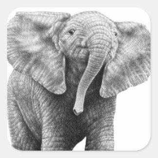 Baby African Elephant Sticker
