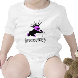 Baby AJ Punk Rocker Baby Bodysuits