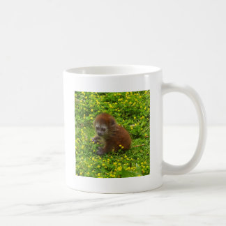 Baby Alaotran Gentle Lemur Coffee Mug