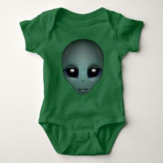 Baby Alien Bodysuit Cute Alien Baby Creepers