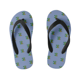 b1b958cb0 Baby Alligator Crocodile Cute Zoo animal Kid s Flip Flops