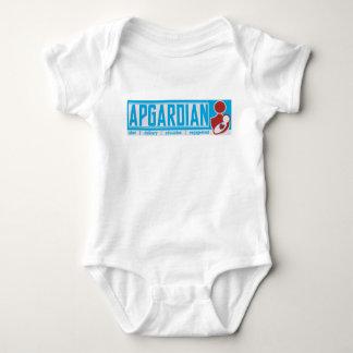 Baby and Mom Bodysuit Aqua Blue