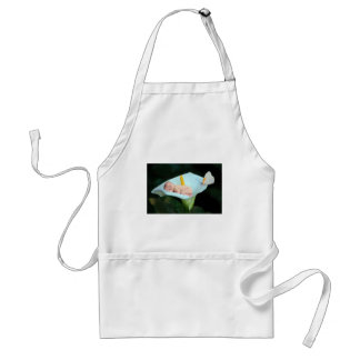 Baby and waterlily flower gift adult apron