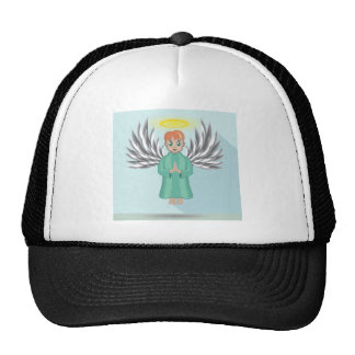 Baby Angel Cap