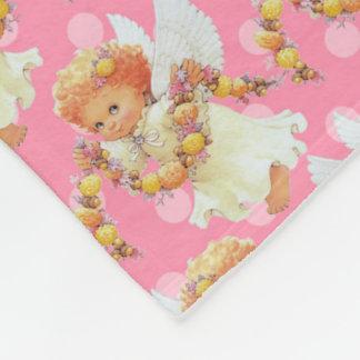 Baby Angel girl fleece blanket number five