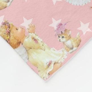 Baby Angel girl fleece blanket number two