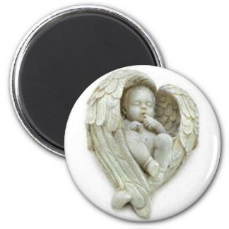 Baby angel wings products fridge magnets