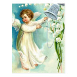 Baby Angel With Blue Bell