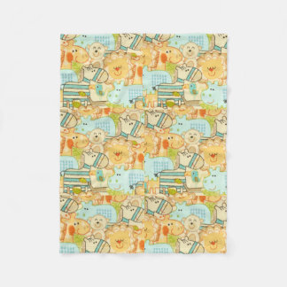 Baby Animals Fleece Blanket
