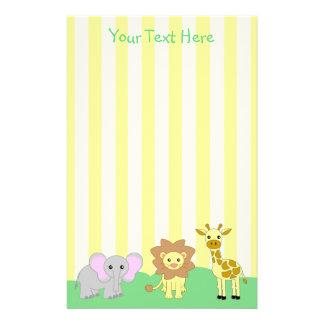 Baby Animals Stationery (TBA)
