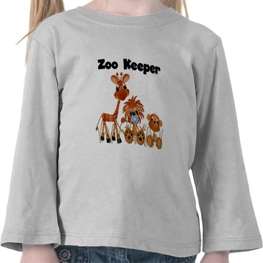 Baby Animals Zoo Keeper Tshirts and Gifts