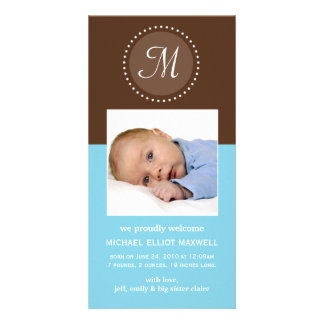 Baby Announcement Photo Card