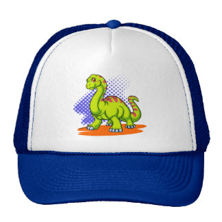 Baby Apatosaurus Trucker Hats
