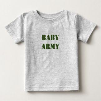 Baby Army Cute Baby T-Shirt