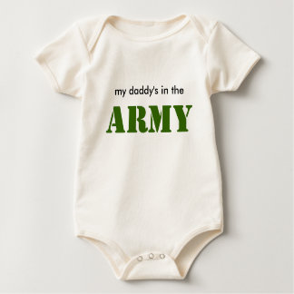 Baby ARMY dad Baby Bodysuit