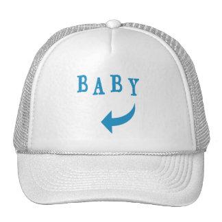 Baby Arrow Blue Cap