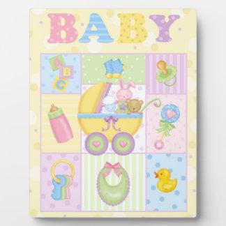 BABY Art Easel Plaque