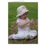 Baby at the Park Greeting Card