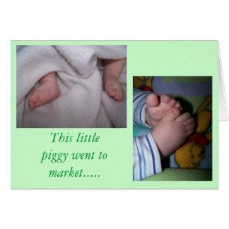Baby (babies) card