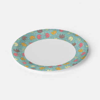 baby background paper plate