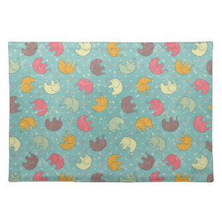 baby background placemat