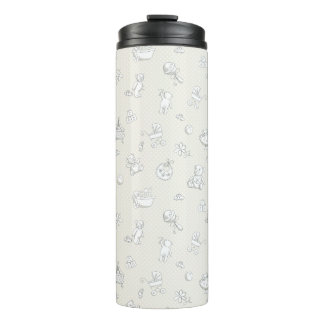 Baby background thermal tumbler